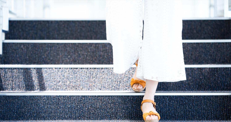 屋外階段への設置